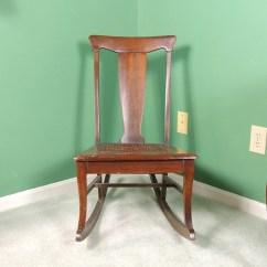 Antique Sewing Chair Modern Wingback Canada Rocker Ebth