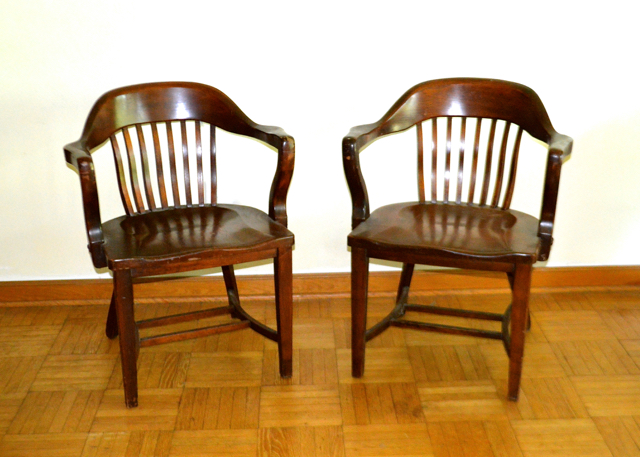 murphy chair company michael guineys covers pair of mid century modern chairs ebth
