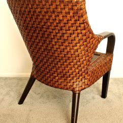Pier One Import Chairs Tall Director Chair With Side Table 1 Imports Rattan Ebth