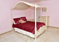 French Provincial Style Canopy Bed Frame : EBTH