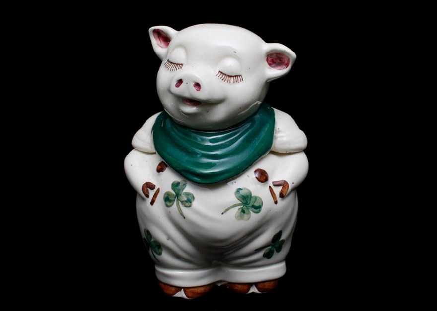 Vintage Shawnee Smiley Pig Cookie Jar Ebth