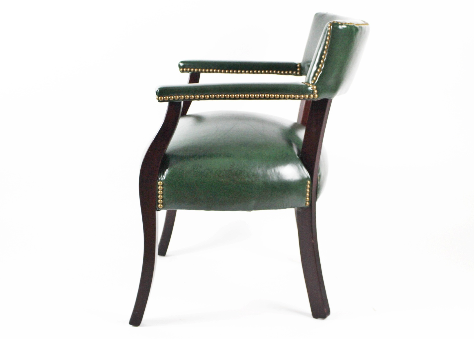 thomasville leather chair square banquet covers quothides and seats quot arm ebth