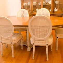 Antique French Dining Table And Chairs Modern Chair Design Outdoor Vintage Provincial Ebth