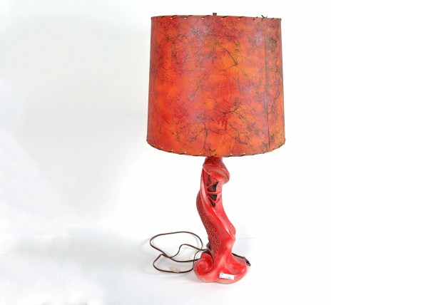 Unique Abstract Red Lamp : EBTH