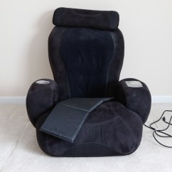 Sharper Image Massage Chairs P Pod Chair Canada Ijoy Turbo2 With Ottoman 2 Calf Foot