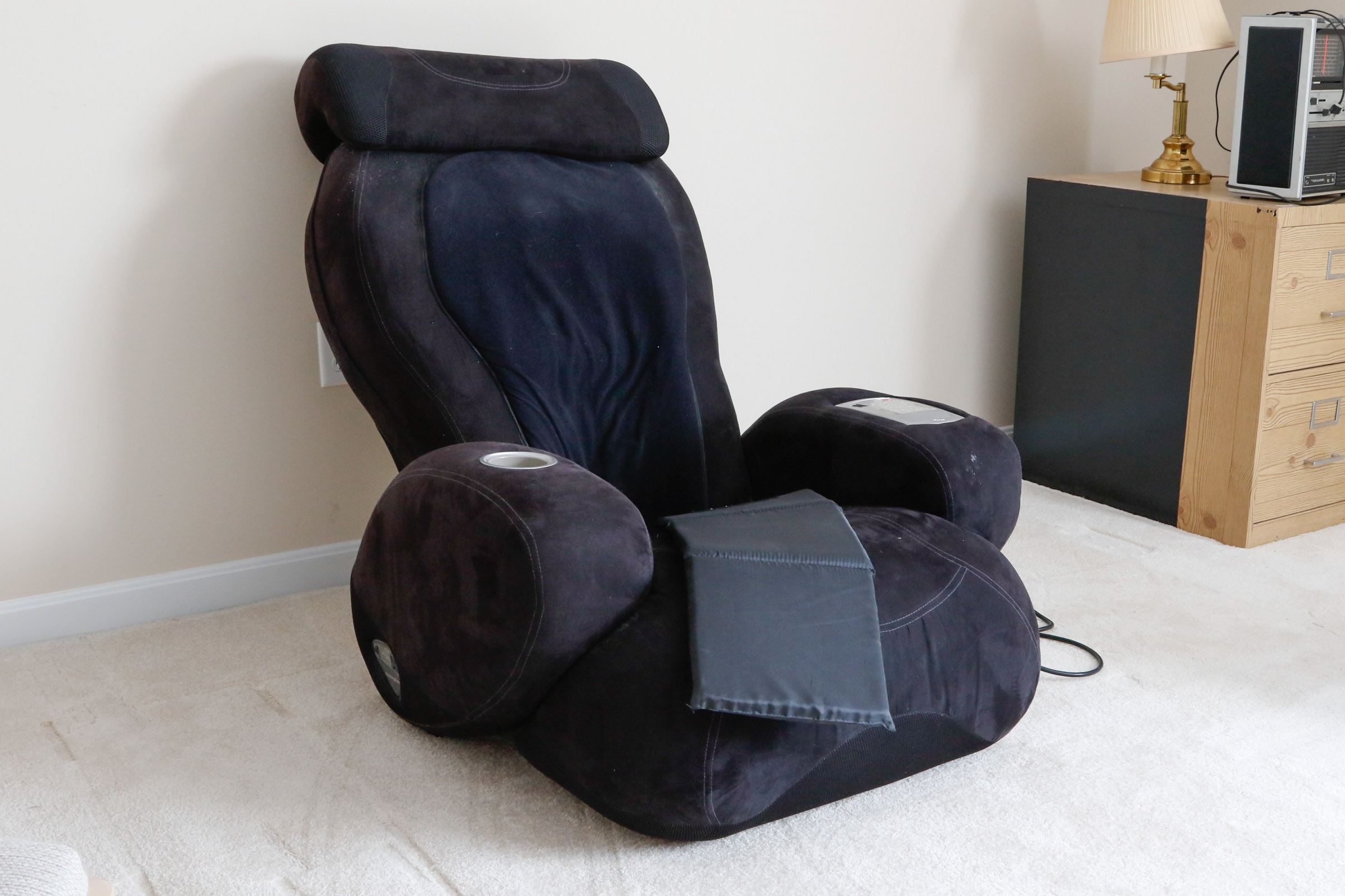 sharper image massage chairs stacking dining uk ijoy turbo2 chair with ottoman 2 calf foot