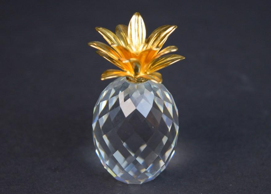 eed958097 Handmade Crystal Pineapple Figurines Miniatures Polished - Year of ...