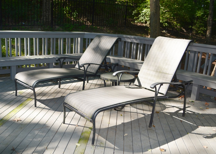 tropitone lounge chairs overstock dining two outdoor chaise ebth
