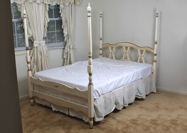 Bonnet By Sears Vintage Full Size Bed Frame Ebth
