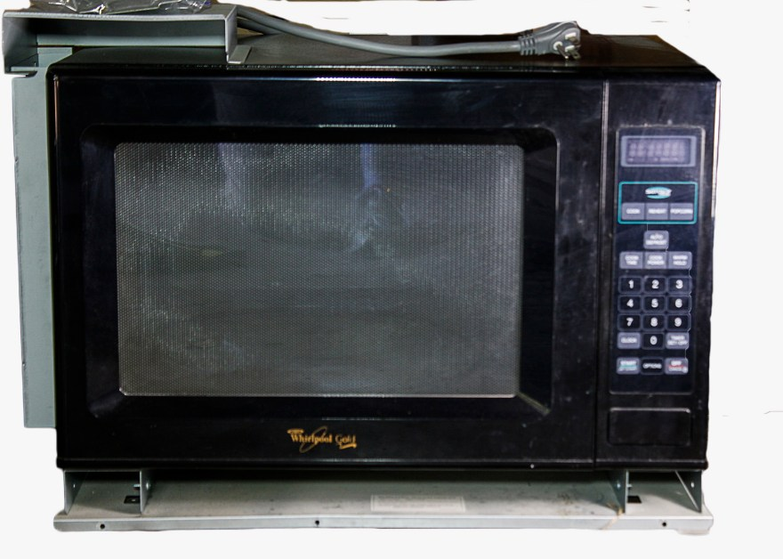 whirlpool gold microwave