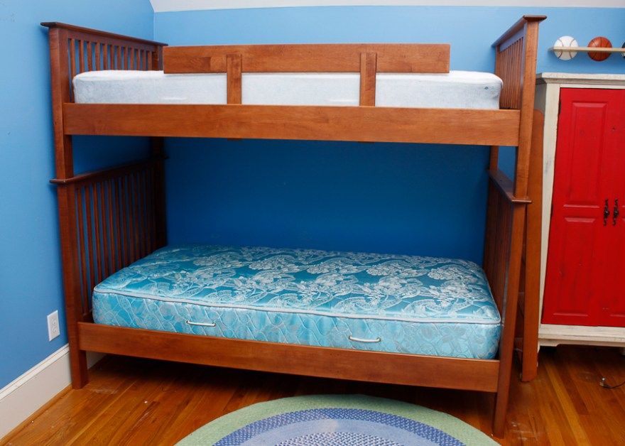 Nadeau Twin Size Bunk Bed Frame Ebth