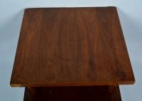 Mid-Century Multi-Level Walnut Veneer Coffee Table : EBTH