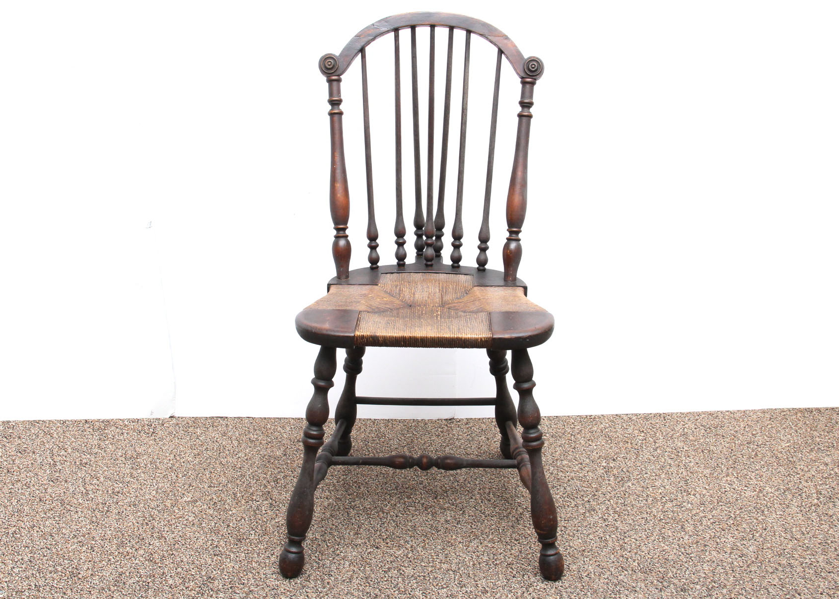 sikes chair company posture promoting antique spindle back ebth