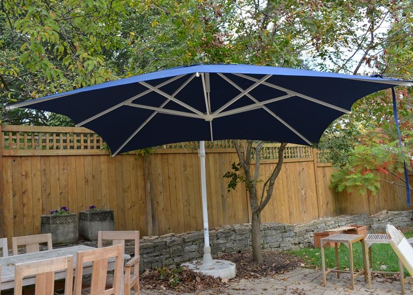 """Frontgate Sun Garden """"easy Sun"""" Patio Parasol Sunshade Ebth"""