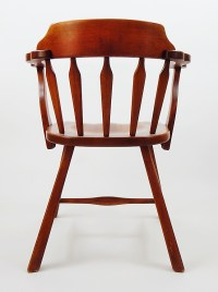Vintage Cushman Colonial Creations Maple Captain's Chair ...