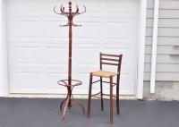 Coat Rack and Bar Chair : EBTH