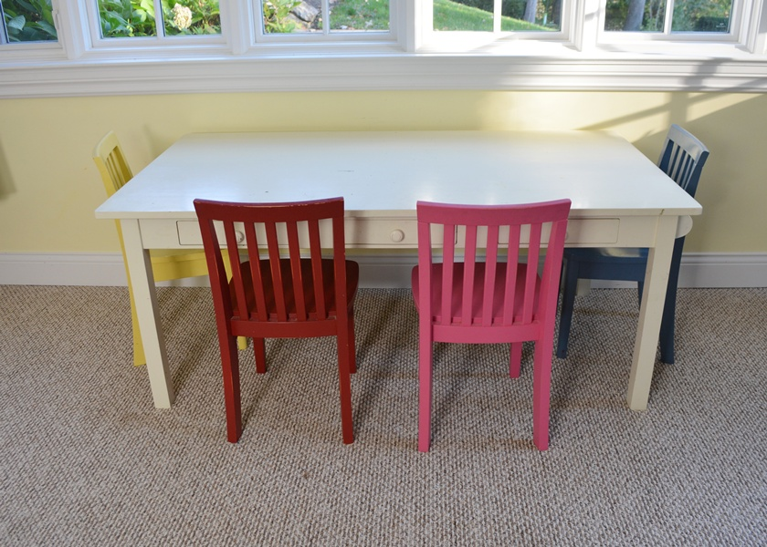 Pottery Barn Kids Craft Table and Chairs