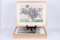 Framed Van Gogh and Monet Prints : EBTH