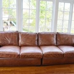 Arhaus Leather Sofa Cleaning Microfiber Brentwood Tiger Mahogany : Ebth