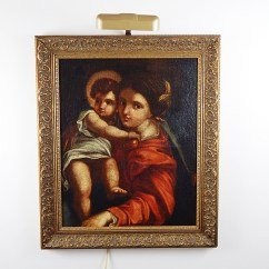 Madonna Of The Chair Graco High 18th Century Reproduction Raphael S Ebth
