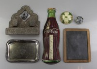 Vintage Coca Cola Thermometer and Home Decor : EBTH