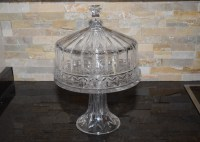 Shannon by Godinger Crystal Domed Cake Plate : EBTH