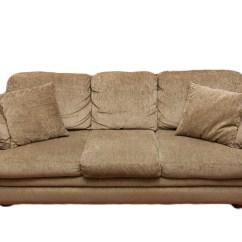 La Z Boy Sleeper Sofa With Air Mattress Gray Linen Fabric Slumber Ebth