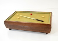 Mid Century Modern Pool Table Jewelry Box : EBTH
