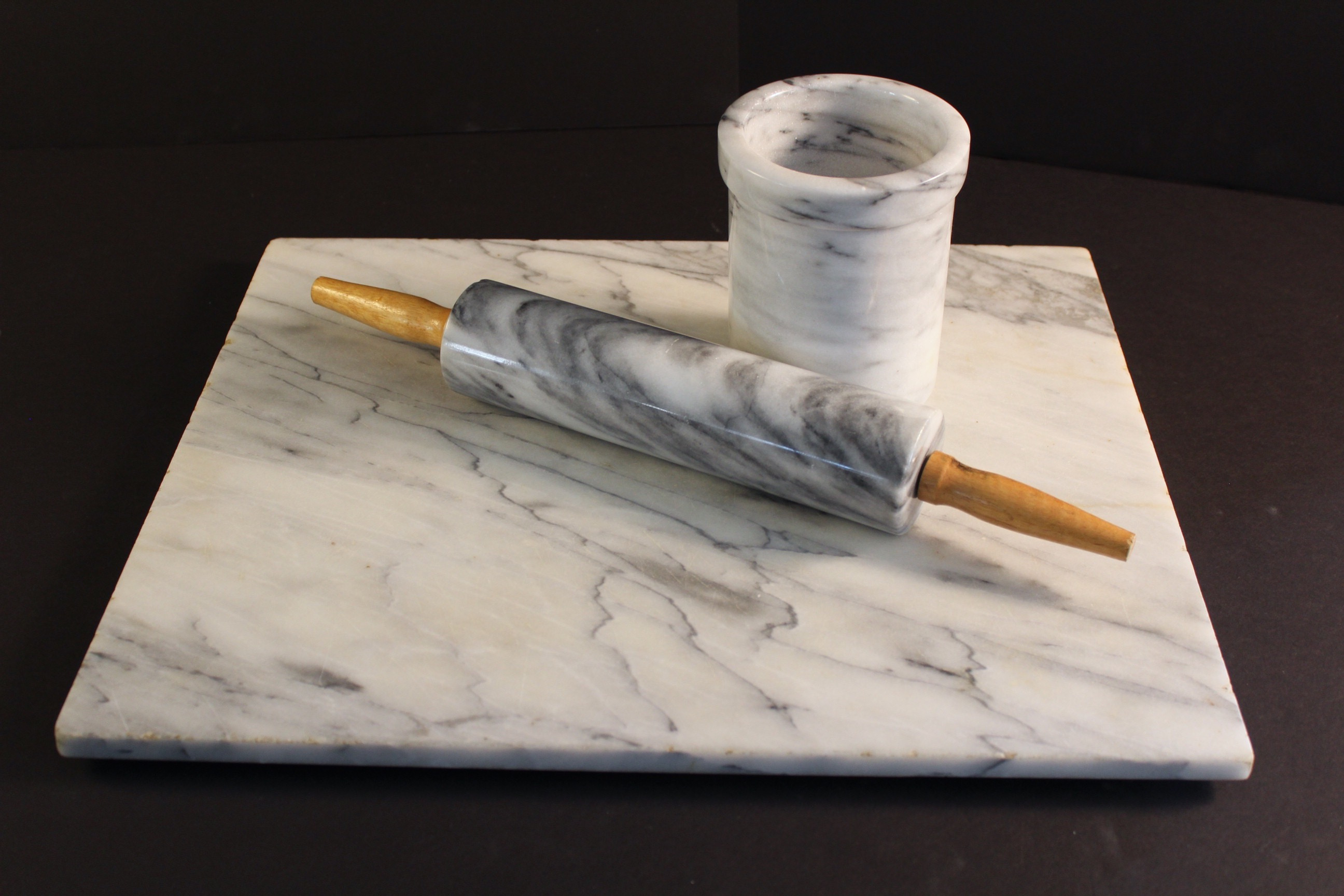 marble kitchen accessories standard table size group of ebth