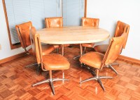 Atomic Mid-Century Modern Chromcraft Kitchen Table and ...
