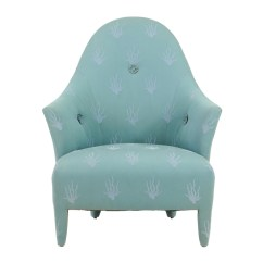Aqua Accent Chair Cute Beach Chairs Contemporary Donghia Ebth
