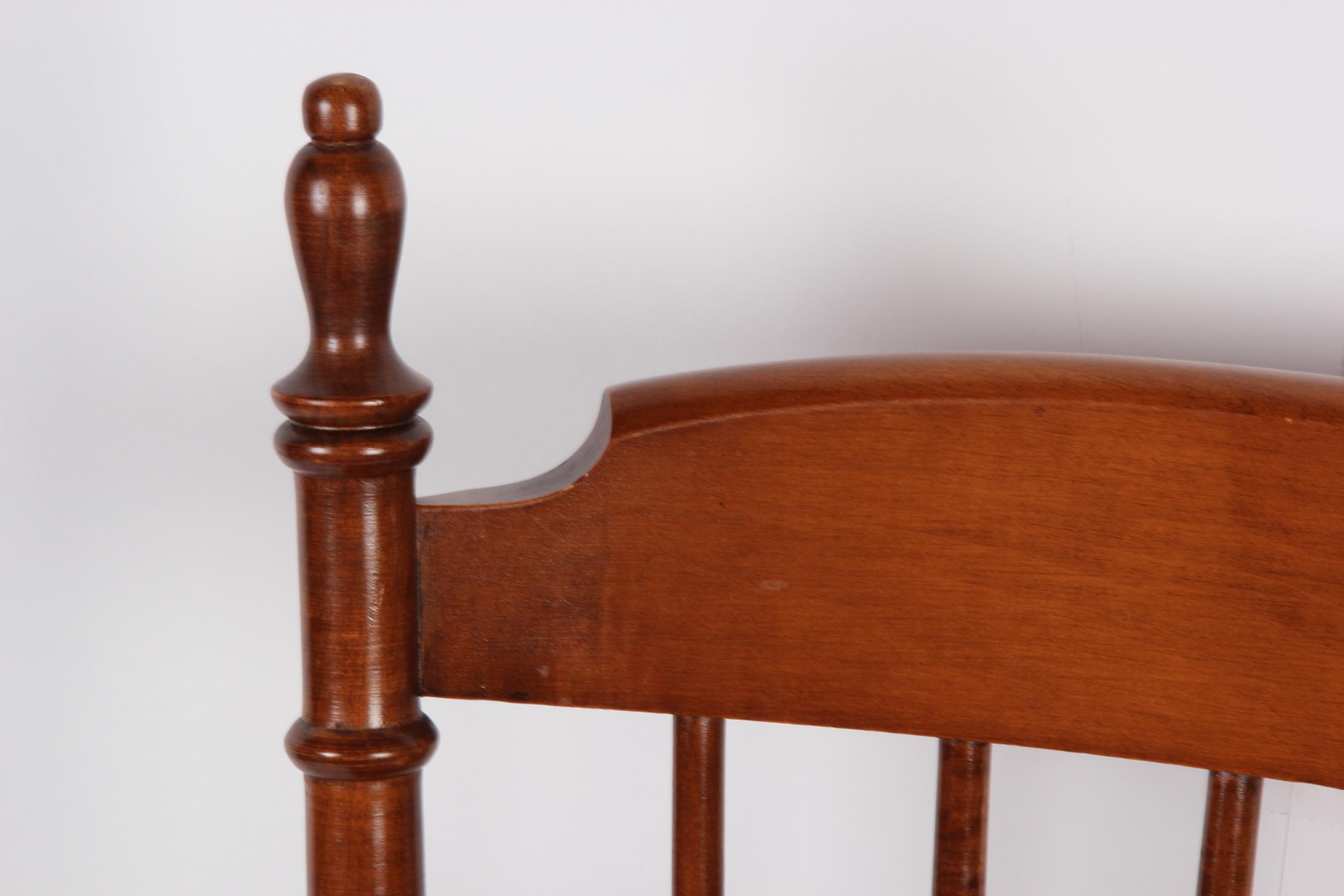 tell city chairs pattern 4222 x rocker pedestal gaming chair instructions co walnut dining ebth