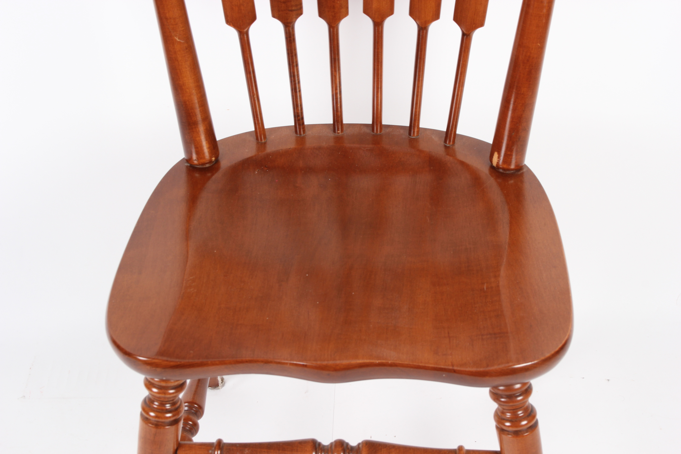 tell city chairs pattern 4548 big game chair co walnut dining ebth