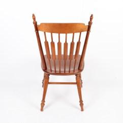 Tell City Chairs Pattern 4222 Bean Bag Stool Chair Co Walnut Dining Ebth
