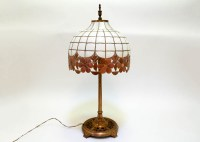 Vintage Lamp with Capiz Shell Shade : EBTH