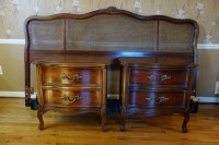 Vintage Dixie Furniture French Provincial Bedroom Set 7 ...