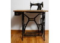 Antique Pfaff Sewing Table   EBTH