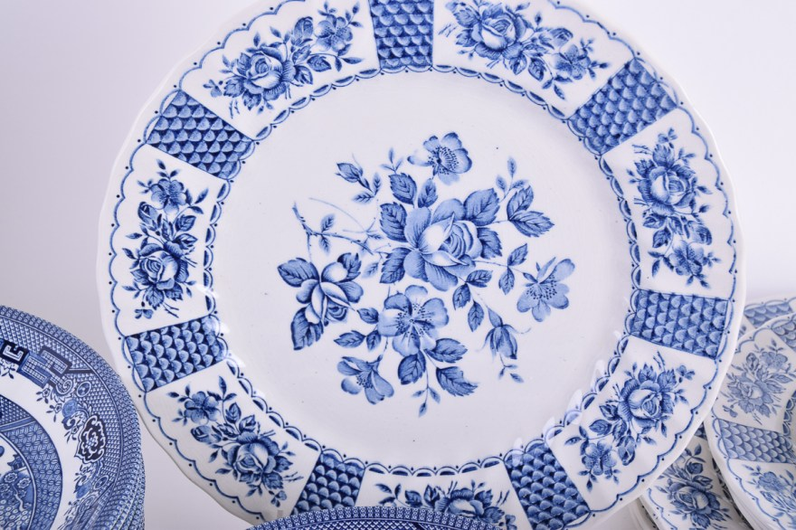 Churchill Willow Marks Blue
