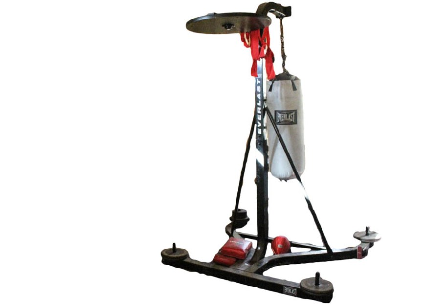 Everlast Heavy Speed Bag Stand With Bags Ebth