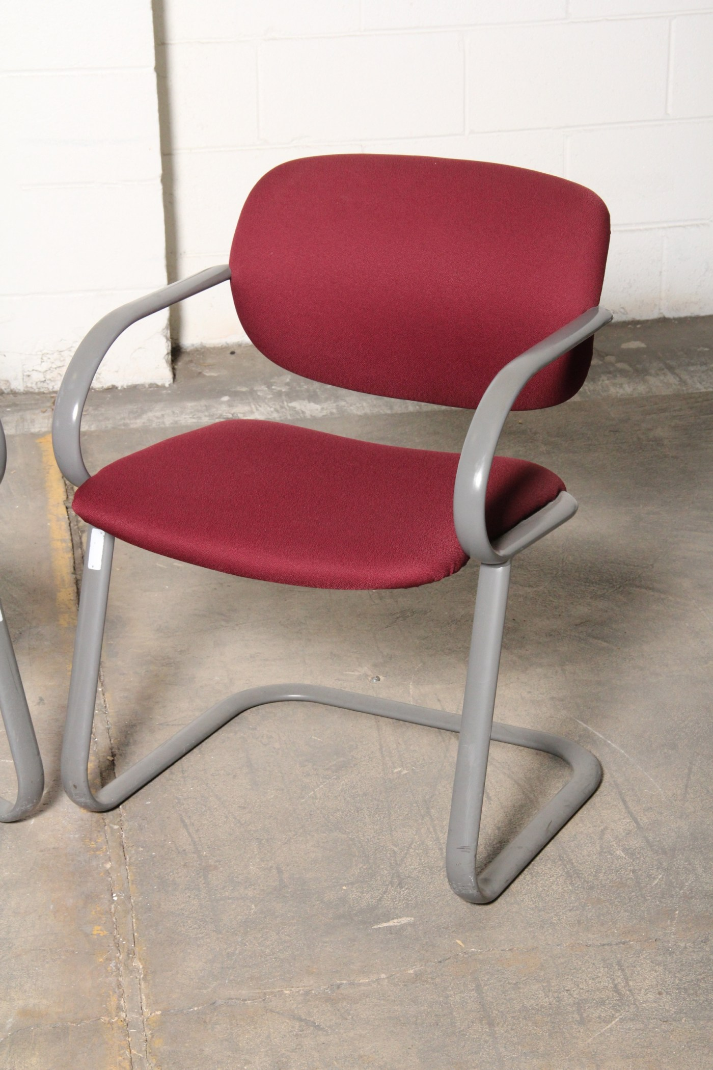 Burgundy Office Chair Burgundy Office Chairs Ebth