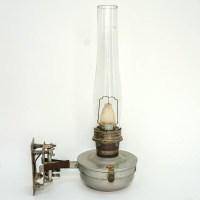 Antique Train Passenger Car Oil Lamp : EBTH