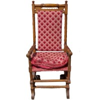 William and Mary Style Spring Rocking Chair : EBTH