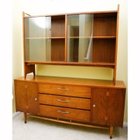 Mid Century Modern Lane Acclaim Two Piece China Cabinet : EBTH