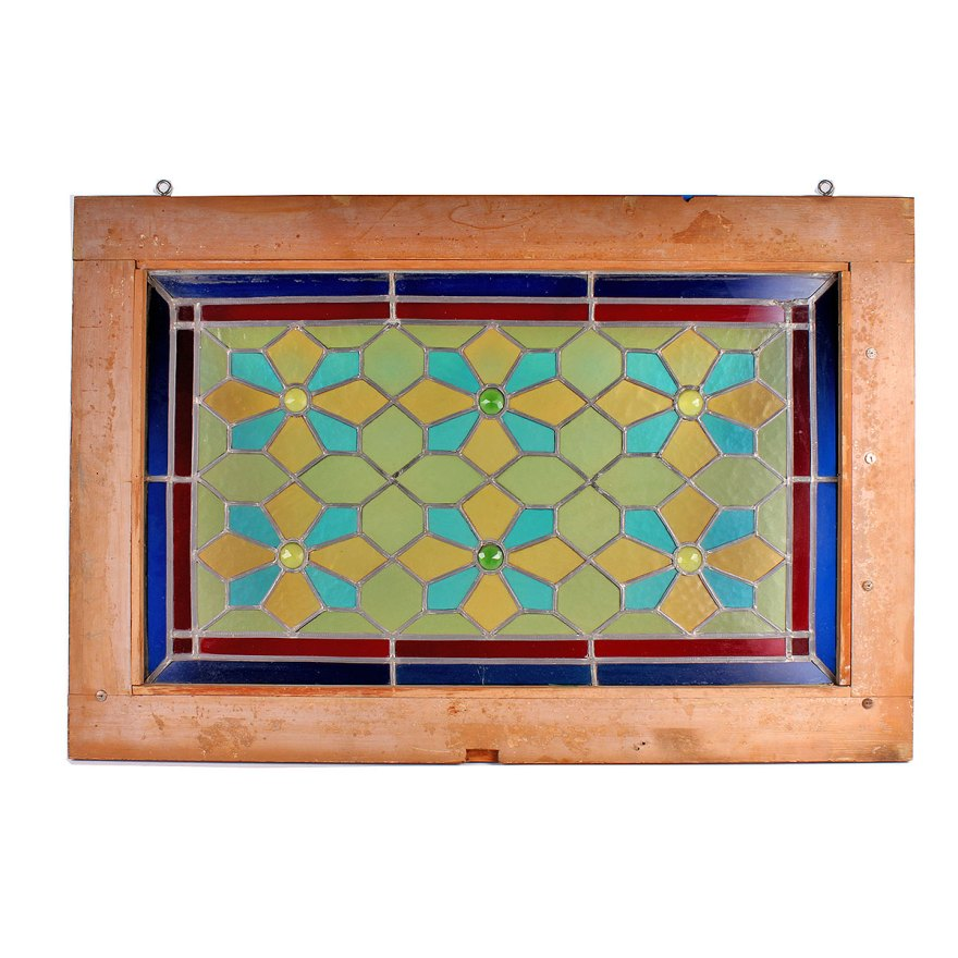 Wall Hanging Framed Stained Glass