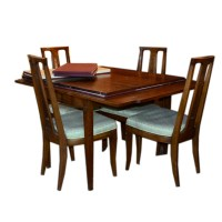 Drexel Mid-century Maple Dining Room Table and Chairs : EBTH