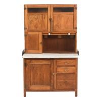 Oak Hoosier Cabinet : EBTH
