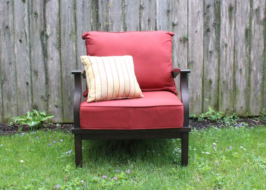 "Allen Roth ""gatewood"" Patio Chair Ebth"