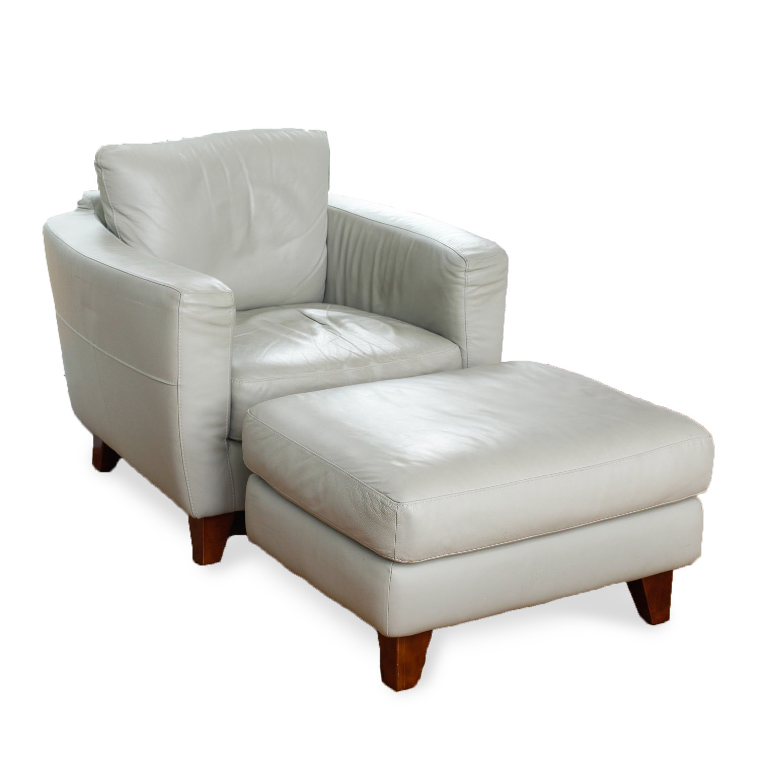 italsofa leather chair sofa sleeper and ottoman ebth