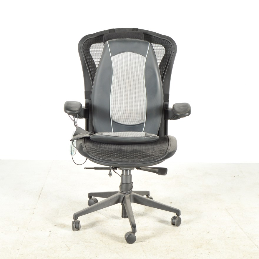Ergonomic Office Chair with Massage Cushion  EBTH