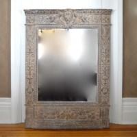 Large Decorative Wall Mirror : EBTH